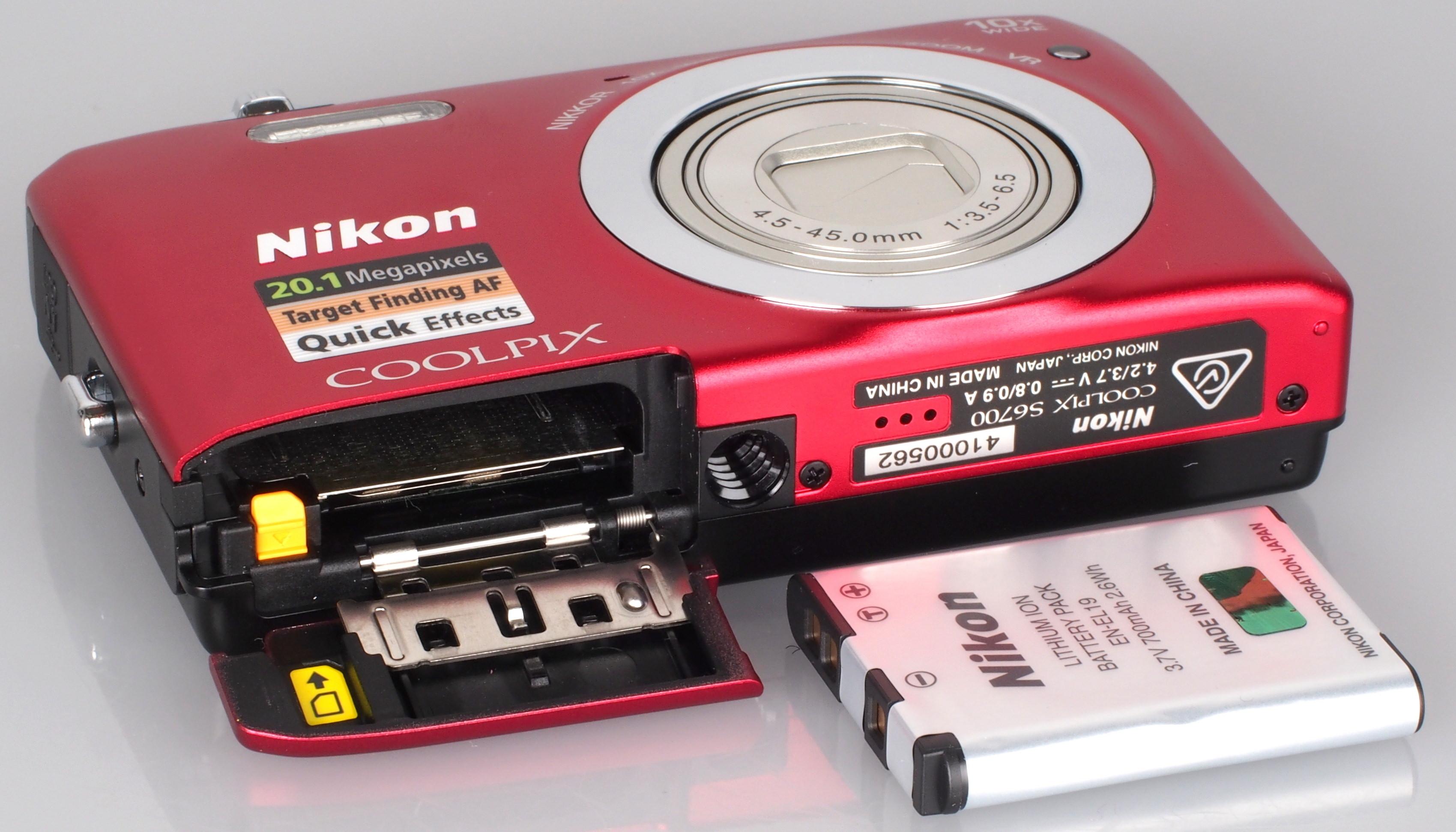 Nikon COOLPIX S6700 Camera 64Bit