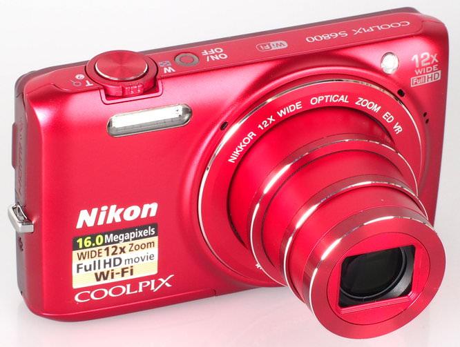 Nikon Coolpix S6800 Red (2)