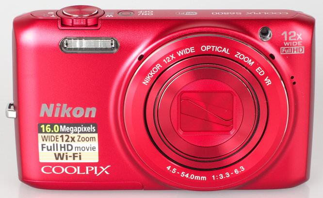 Nikon Coolpix S6800 Red (3)