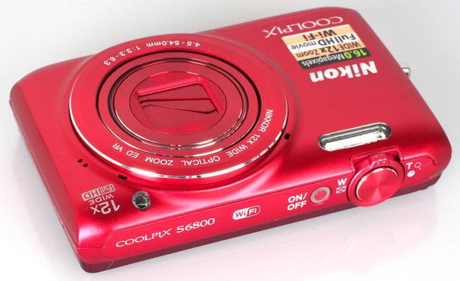 Nikon Coolpix S6800 Red (5)