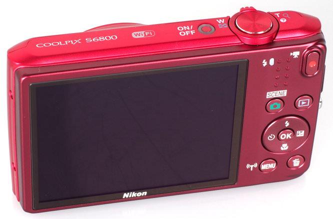 Nikon Coolpix S6800 Red (6)