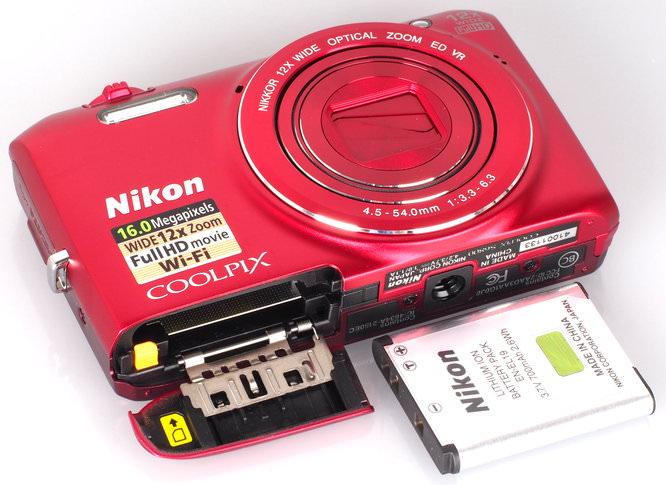 Nikon Coolpix S6800 Red (8)