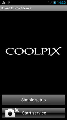 Nikon Coolpix S810c Upload To Smart Device