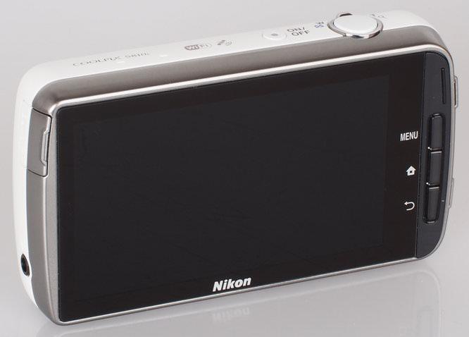 Nikon Coolpix S810c White (2)