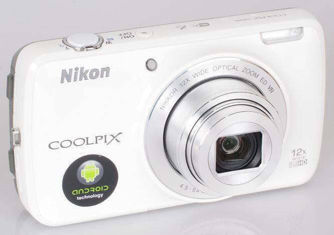 Nikon Coolpix S810c White (4)