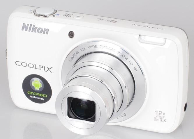 Nikon Coolpix S810c White (5)
