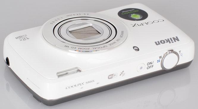 Nikon Coolpix S810c White (6)