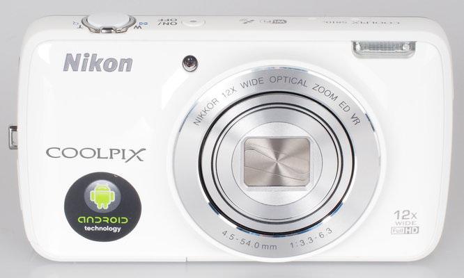Nikon Coolpix S810c White (7)