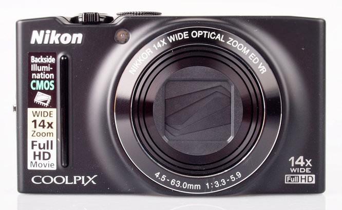 Nikon Coolpix S8200 Front