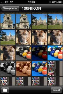 Nikon Coolpix S9500 App Screenshot 1