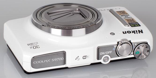 Nikon Coolpix S9700 White (7)