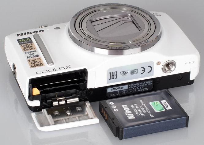 Nikon Coolpix S9700 White (8)