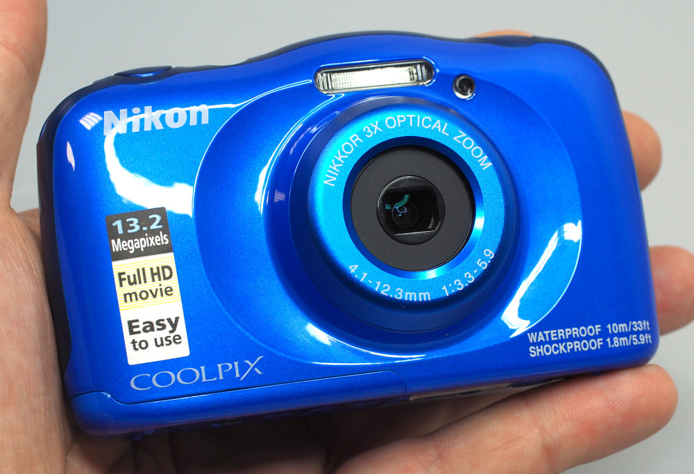 Nikon Coolpix W100 Blue (1)