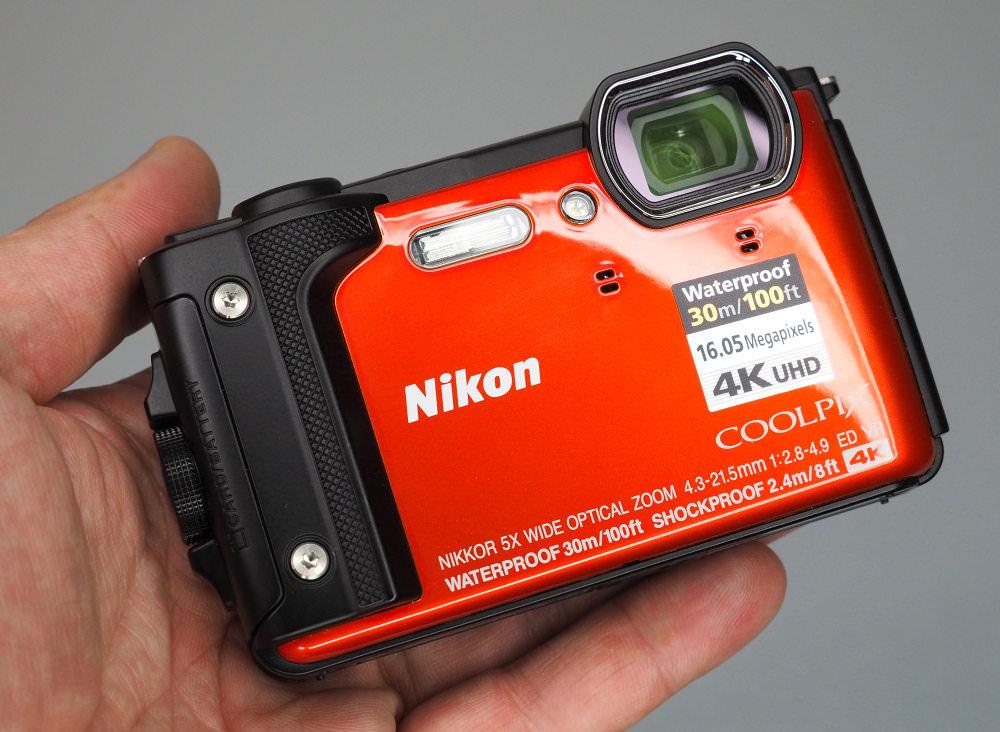 Nikon Coolpix W300 Orange - Oooh Shiny!