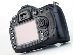 Nikon D300s DSLR back
