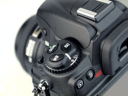 Nikon D300s DSLR left shoulder