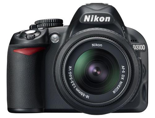 Nikon D3100 DLSR