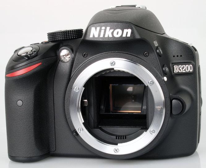 Nikon D3200 Front 2
