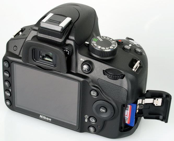 Nikon D3200 Memory Card 1