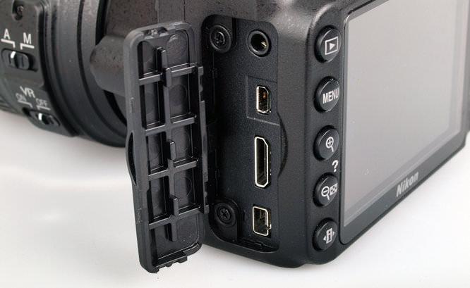 Nikon D3200 Ports