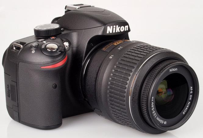 Nikon D3200 With Lens 1