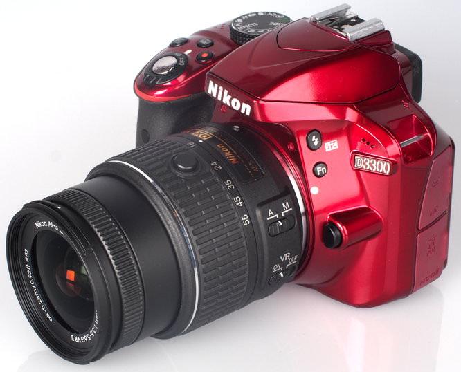 Nikon D3300 Red (13)