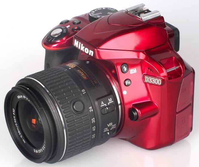 Nikon D3300 Red (14)