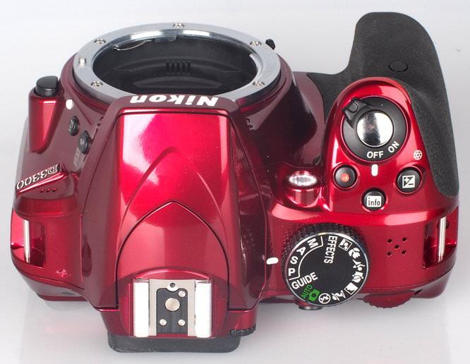 Nikon D3300 Red (5)