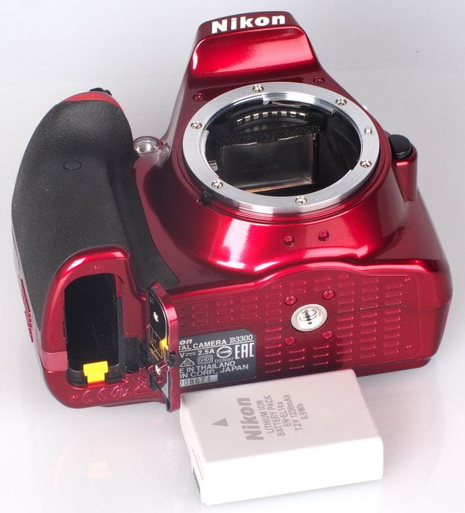 Nikon D3300 Red (8)