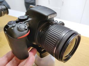 Nikon D3500 Hands-On Photos
