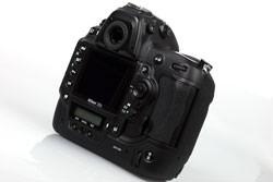 Nikon D3s rear view