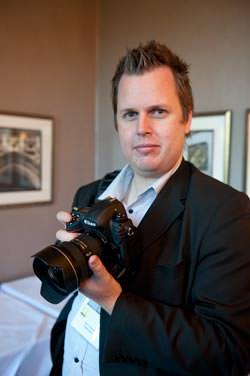 Matt with Nikon D3s