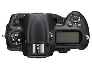 Nikon D3s top view