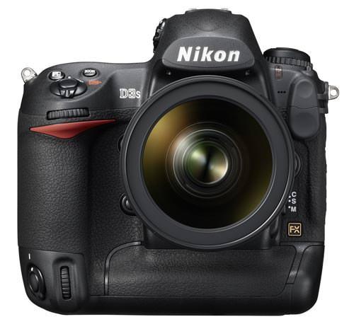 Nikon D3s front view