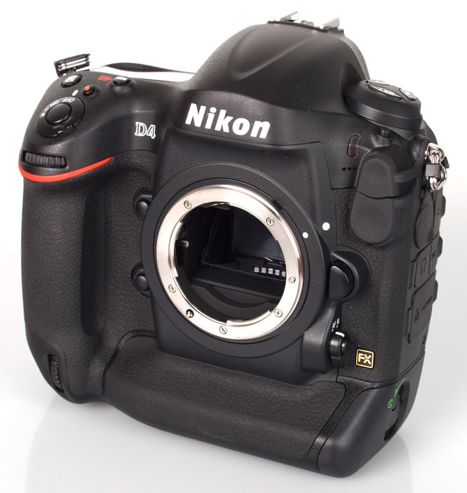 Nikon D4 Front Angle Large