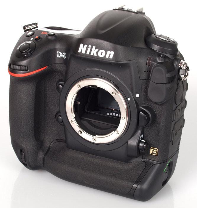 Nikon D4 Front Angle Large