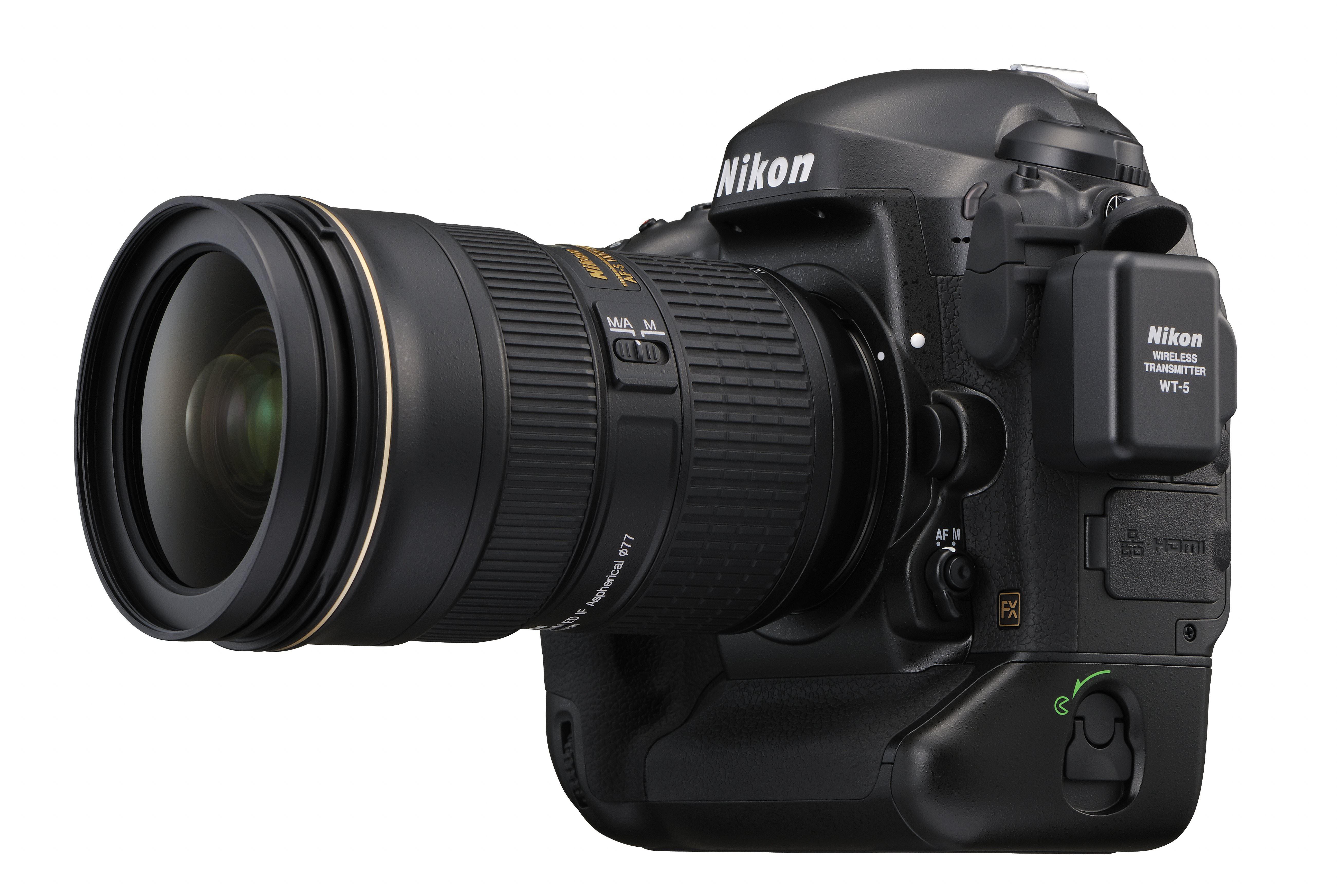 Nikon D4 Full Frame Digital Slr Announced