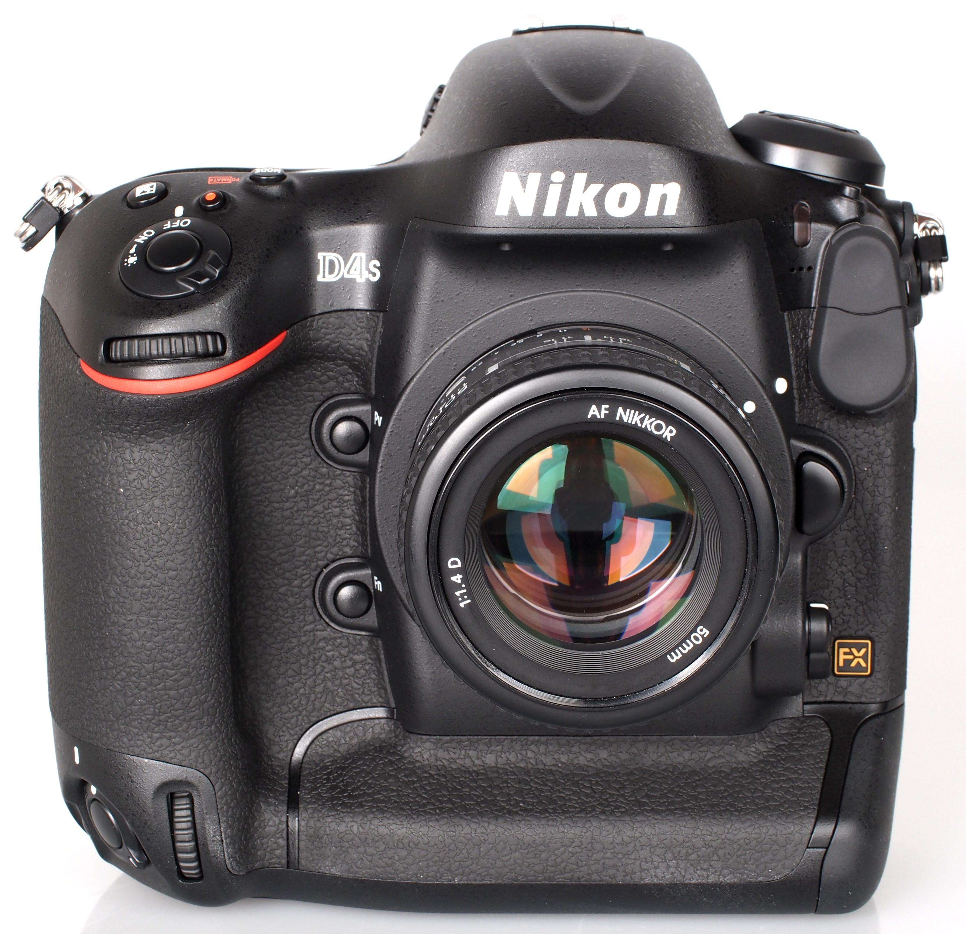 Nikon D4S Wins European Professional DSLR Camera 2014-2015