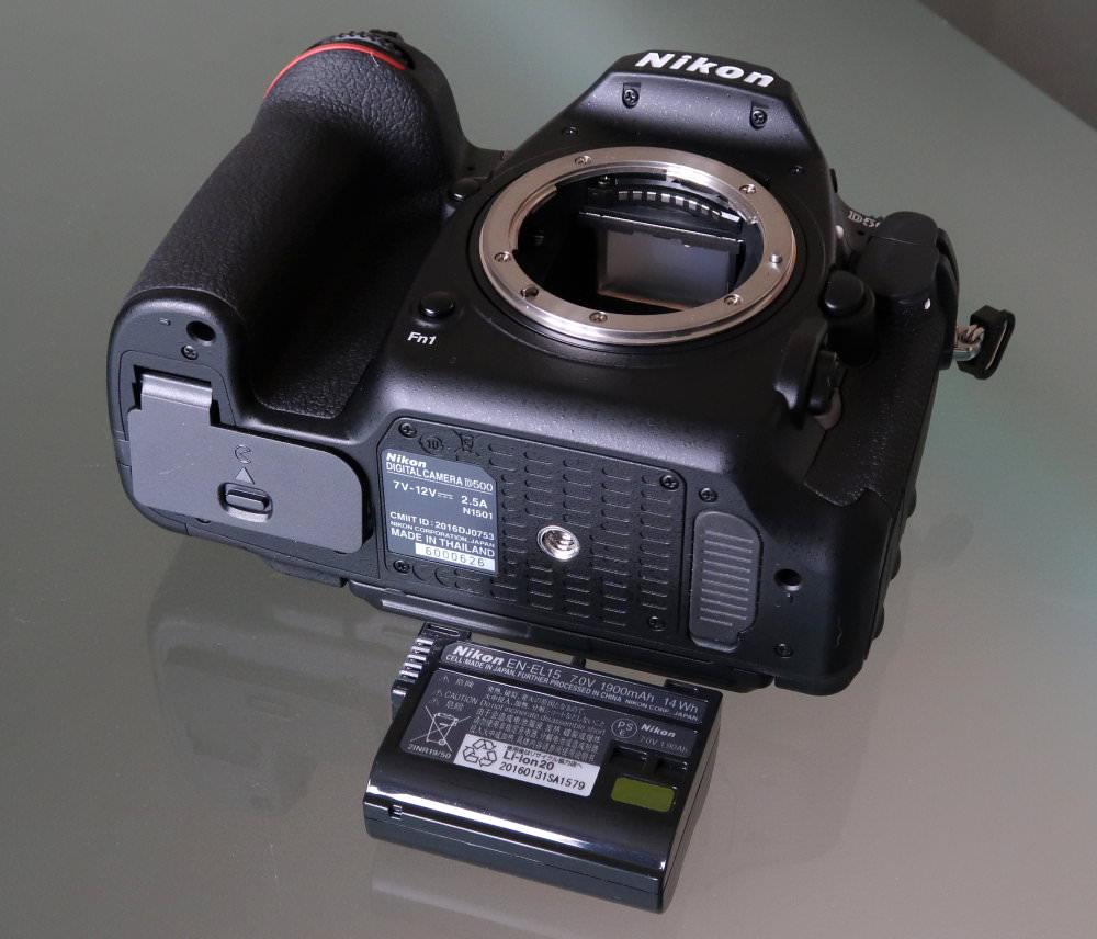 Nikon D500 Battery