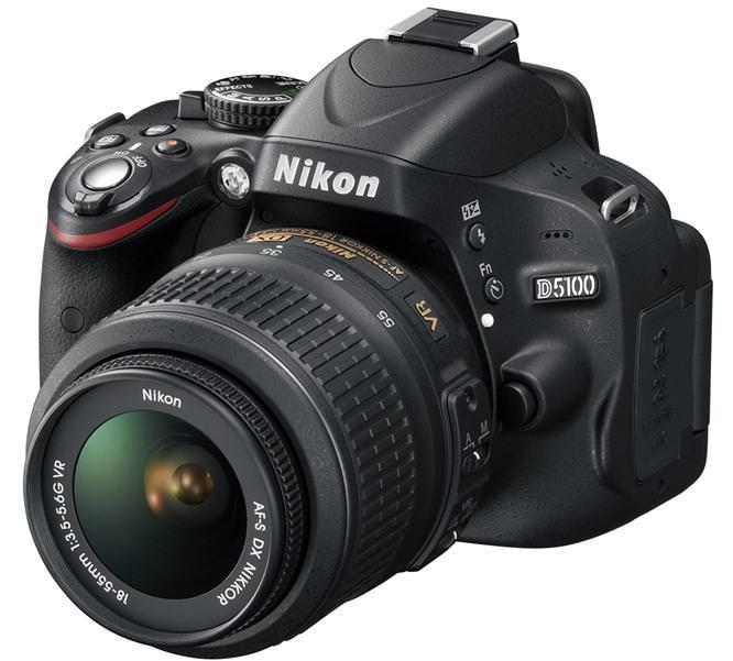 Nikon D5100 DSLR Front