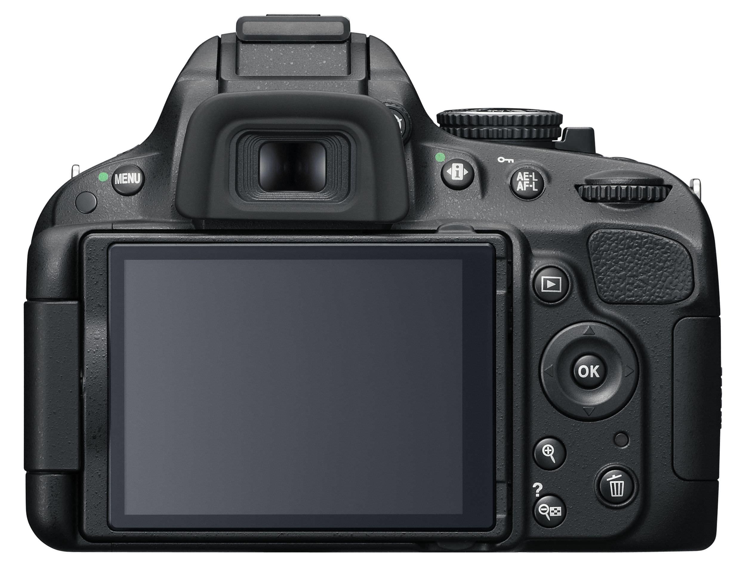 Nikon D5100 Back