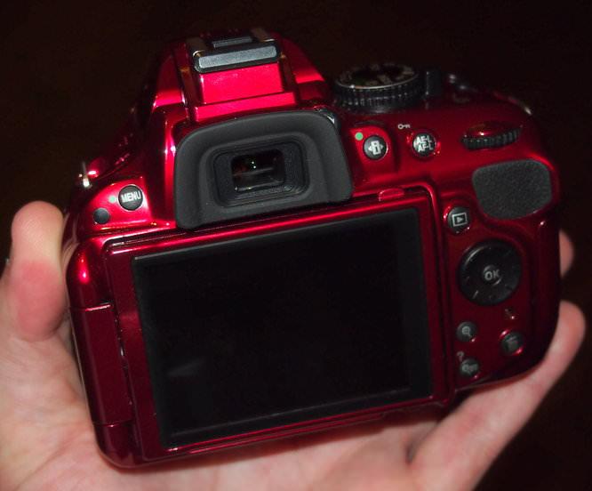 Nikon D5200 Red (7)