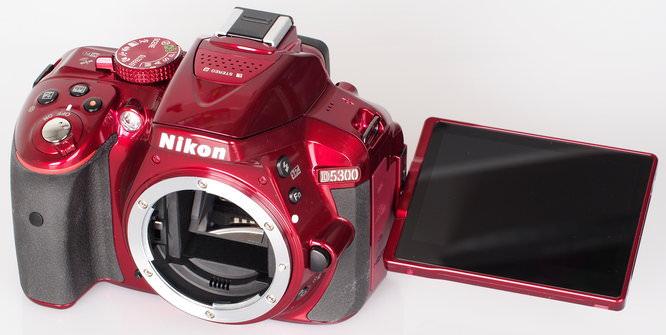 Nikon D5300 Red (10)