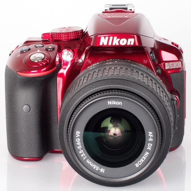 Nikon D5300 Red (3)