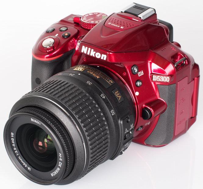 Nikon D5300 Red (4)