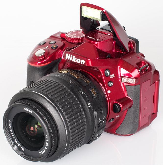 Nikon D5300 Red (5)