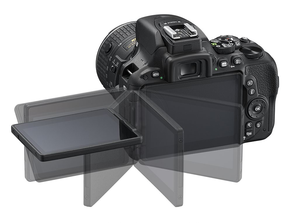 D5500 BK 18 55   LCD 4