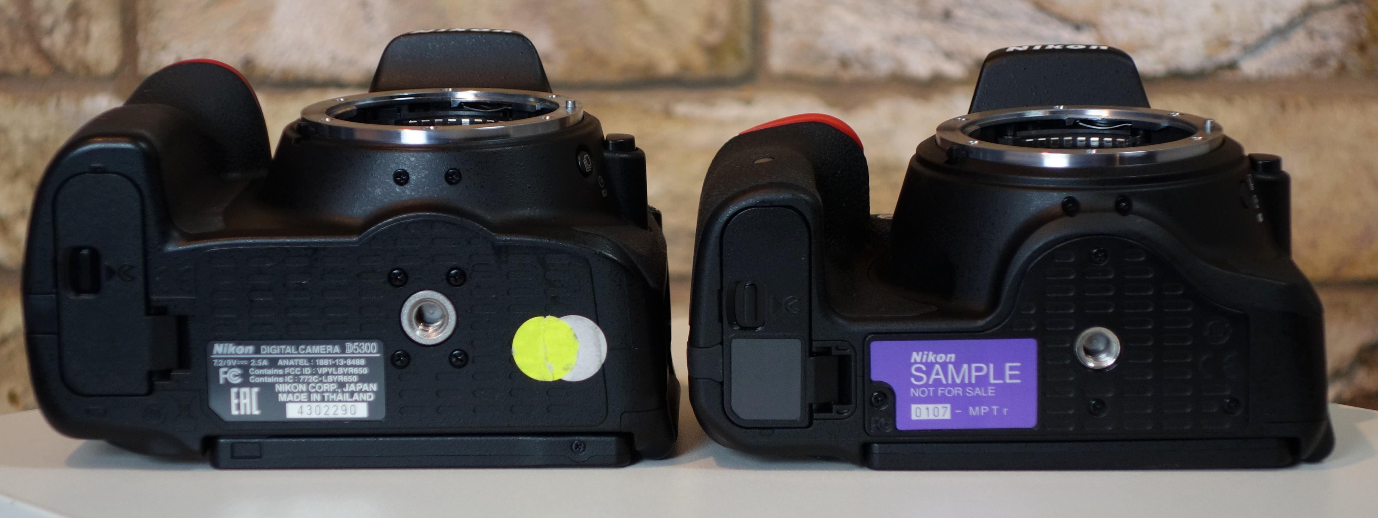 Nikon D5500 Versus Nikon D5300 DSLR Comparison | ePHOTOzine