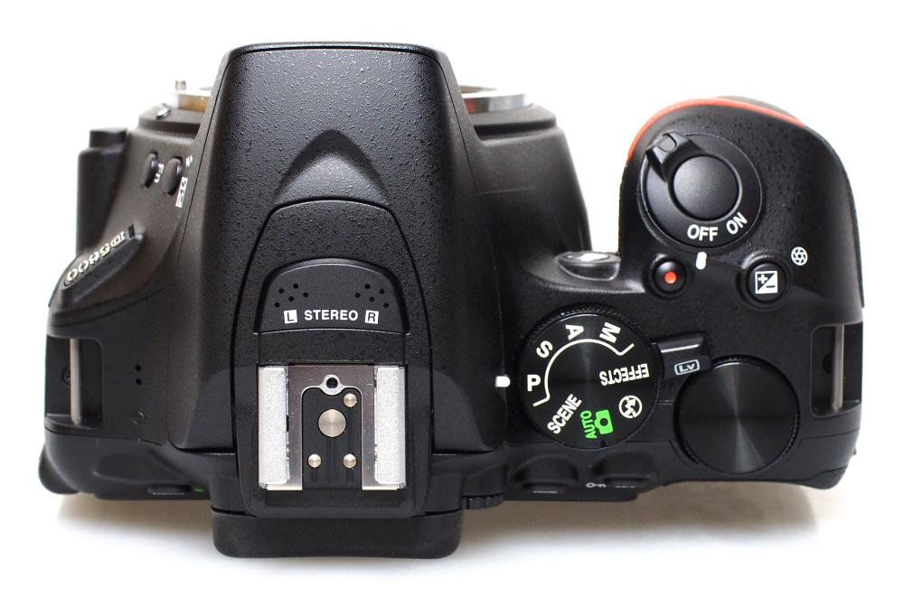 Nikon D5600 Top (2)