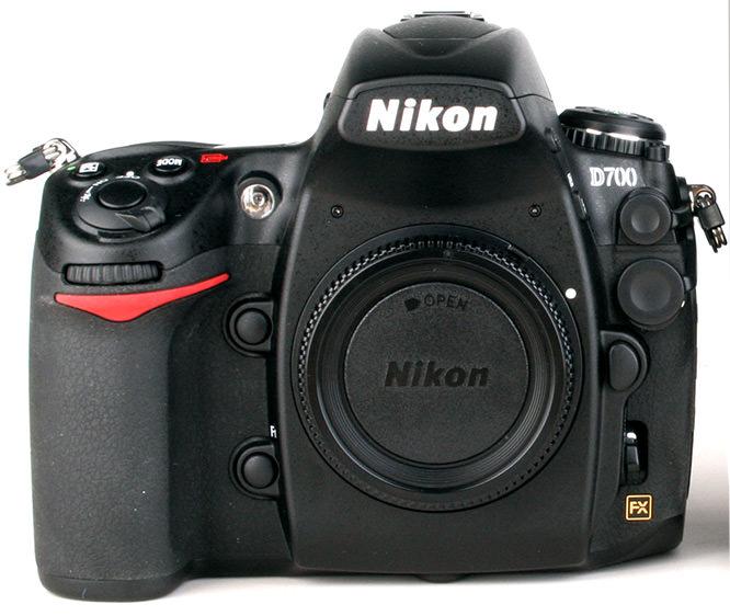 Nikon D700 Front Body